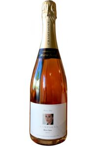 CHAMPAGNE-DOMAINE CHARPENTIER-MARIE SARA BRUT ROSE-75CL