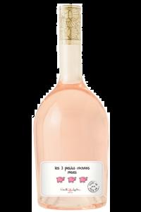 VIN DE FRANCE-LES 3 PETITS COCHONS-ROSE-2020-75CL