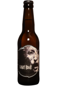 OUROBOROS-LAGER BOMB 6% BIERE HOPPY LAGER-33CL