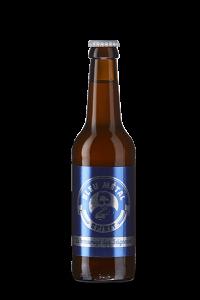 """Bière Blonde - Brasserie La Rouget de Lisle, """"Bleu Métal"""""""