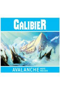 BRASSERIE GALIBIER-AVALANCHE HEFE WEIZEN 5% VP-BLANCHE-33CL