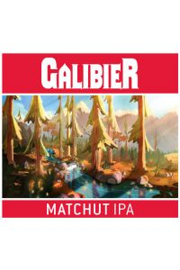 BRASSERIE GALIBIER-MATCHUT IPA 6 % VP- -75CL