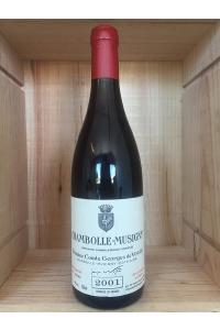 CHAMBOLLE MUSIGNY-COMTE DE VOGUE-ROUGE-2001-75CL***