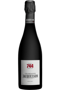 CHAMPAGNE-CHAMPAGNE JACQUESSON-744-BULLES-75CL***
