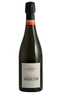 CHAMPAGNE-CHAMPAGNE JACQUESSON-N°738 DT ***-BULLES-75CL