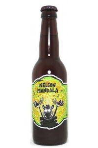 """La Brasserie Ouroboros x Crazy Hops - Blonde """"Nelson Mandala"""", 33cl"""