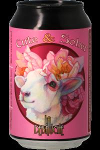 """Brasserie La Débauche - Berliner Weisse sans alcool """"Cute & Sober"""", 33 cl"""