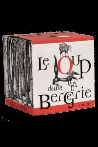 VIN DE FRANCE-DOMAINE DE L'HORTUS-LOUP DANS LA BERGERIE-ROUGE-2020-3 LITRES