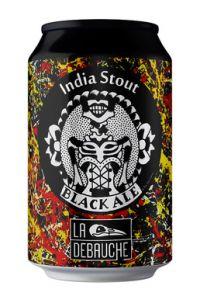 """Brasserie La Débauche - India Stout black Ale """"Black Ale India"""", 33 cl"""