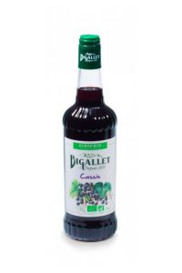 BIGALLET SIROP CASSIS BIO-70CL