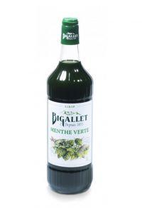 BIGALLET-SIROP MENTHE VERTE-100CL