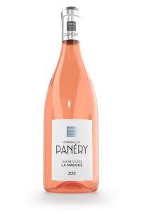 AOP DUCHE D'UZES-CHATEAU DE PANERY-MADONE-ROSE-2020-75CL