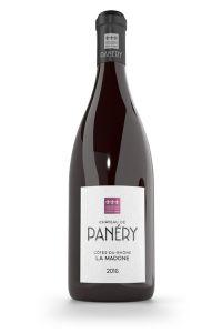 AOP DUCHE D'UZES-CHATEAU DE PANERY-MADONE-ROUGE-2018-75CL