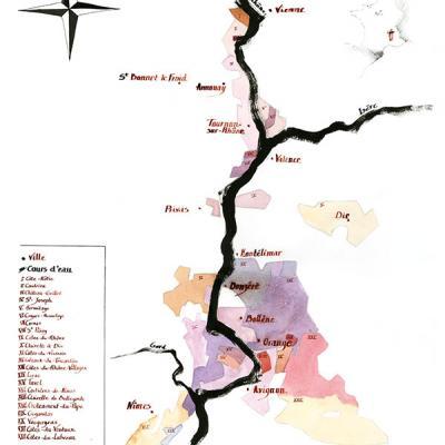 Vallée du Rhône nord