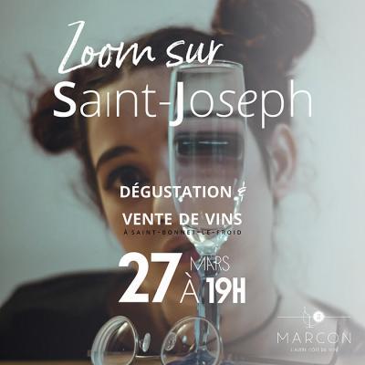"Soirée dégustation ""Saint-Joseph"""
